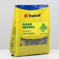 Корм для растительноядных рыб Tropical Algae Waffers