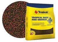 Полноценный корм в виде гранул Tropical Basic Mini Granules