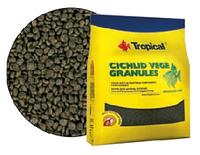 Растительный корм для цихлид Tropical Cichlid Vege Granules