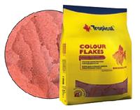 Полноценный корм в виде хлопьев для усиления окраски Tropical Сolour Flakes XXL