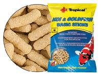 Полноценный корм в виде плавающих палочек Tropical Koi&Goldfish Basic Sticks