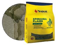 Полноценный растительный корм в виде хлопьев Tropical Spirulina Flakes XXL