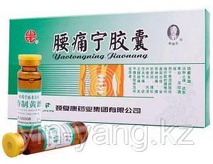 """Капсулы+Эликсир для снятия болей в пояснице """"Яотуннин"""" (Yaotongning Jiaonang), 20+5"""