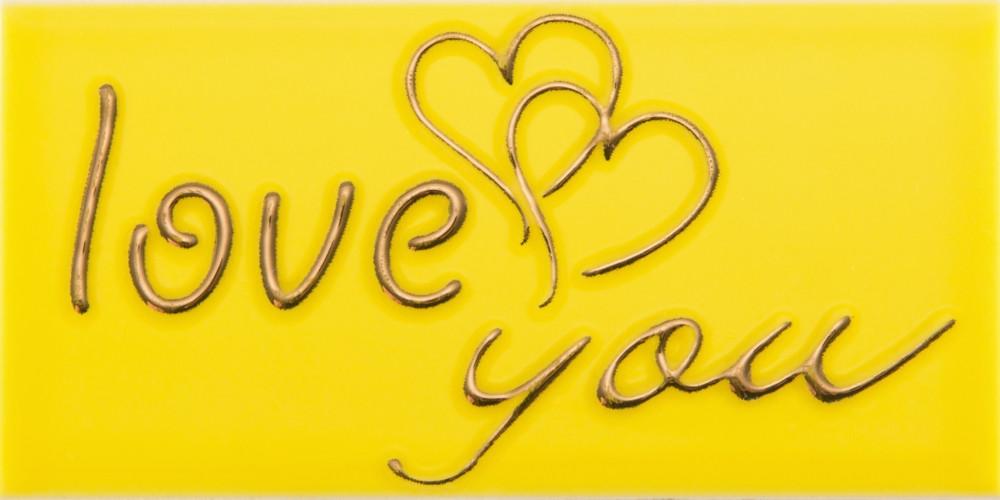 Декор Sandra Love 1 YL 76x152 D22/G