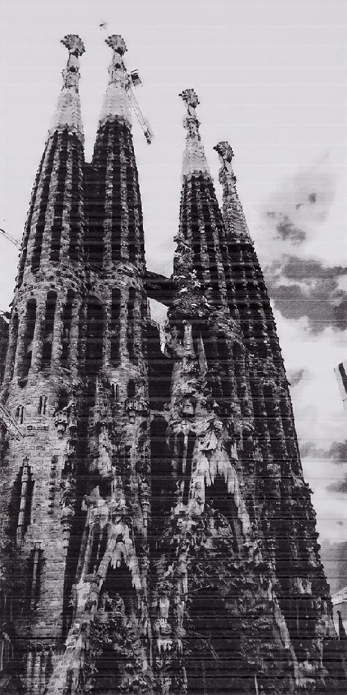 Декор Spain Sagrada Familia (295x595) D6