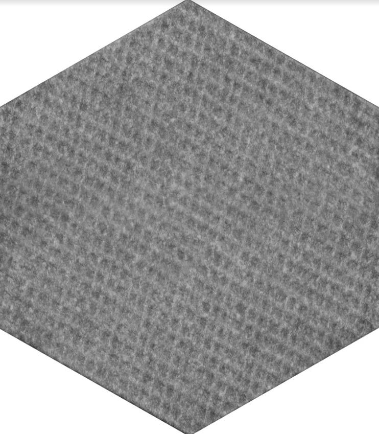 Плитка для пола глазурованная R Hexagon Mix GR 346x400