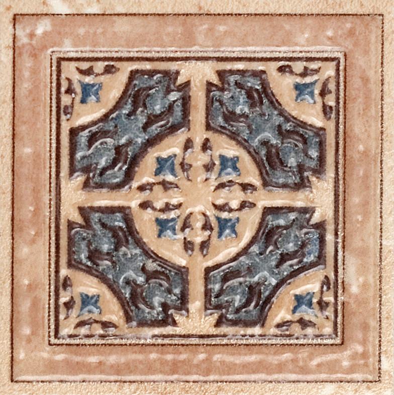 Декор пол Verona BL 70x70 D10