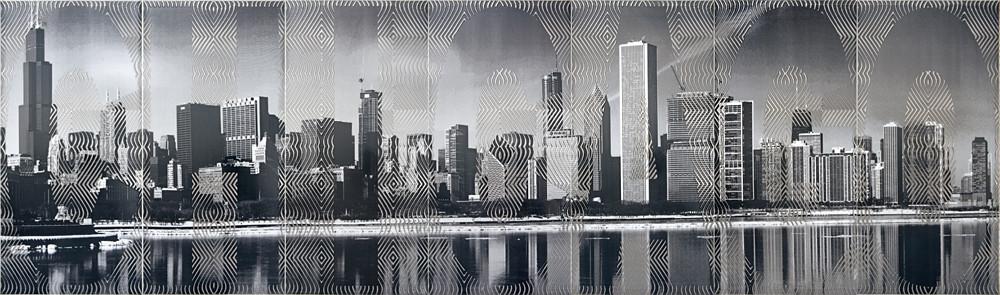 Декор-панно Chicago 595x2065 D6/Pt