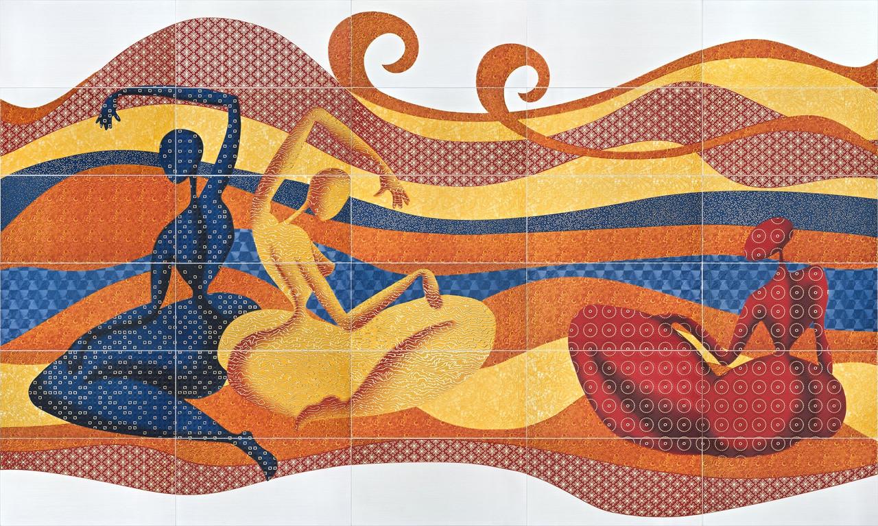 Декор-панно Gracia (2975x1770) D6/G