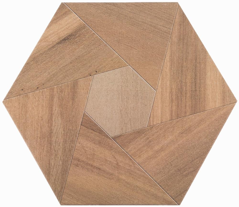 Плитка для пола глазурованная Wood YL 346x400
