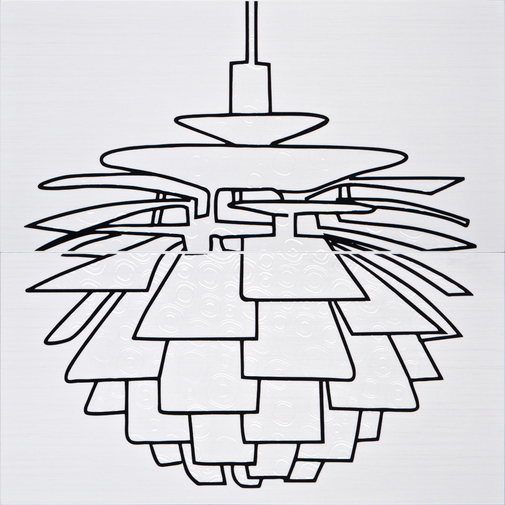 Декор-панно Kuznetsov 1 Lamp 590x595 D6