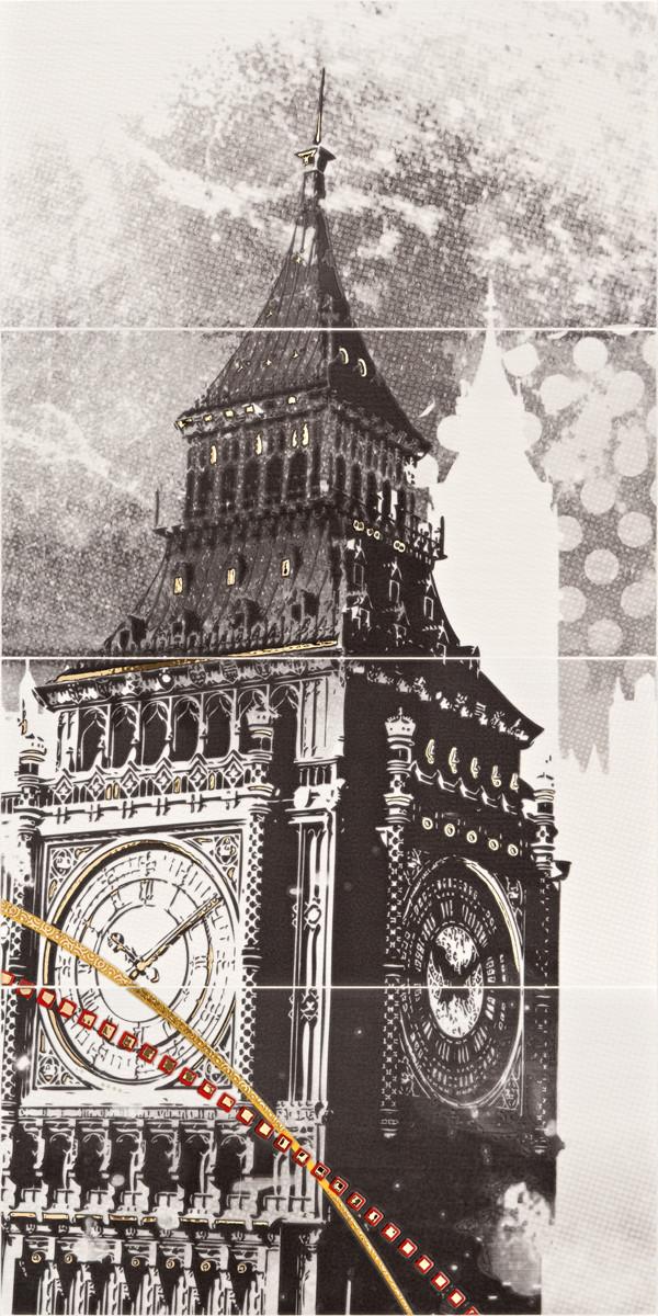 Декор-панно London Big Ben 595x1180 D6/LG