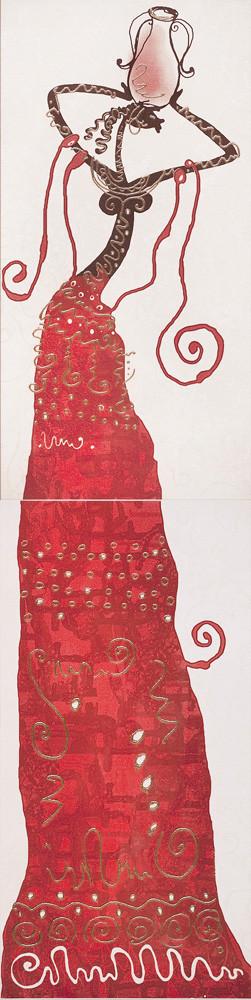 Декор-панно Lora 1 Lora 295x1190 D6