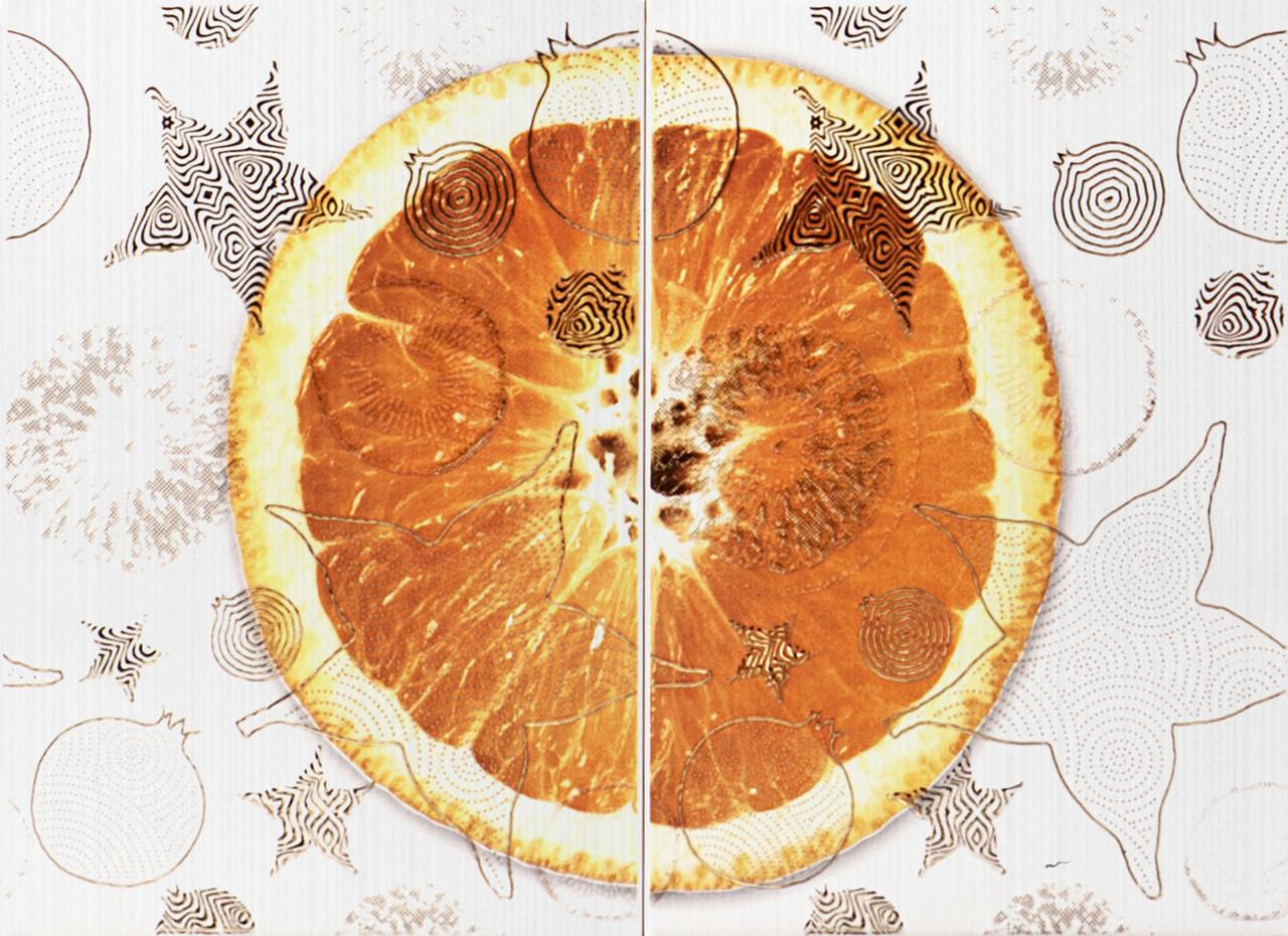 Декор-панно Vitel Orange (550x400) D2/G