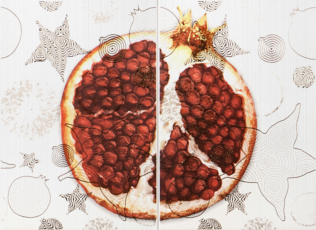 Декор-панно Vitel Pomegranate 550x400 D2/G