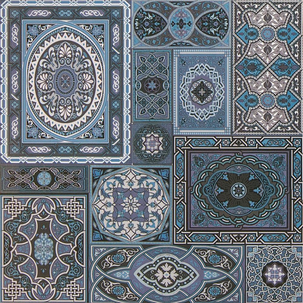 Плитка для пола ректифицированная Aladdin BL 600x600 /6 P