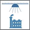 Светильник 50 в, колокол, промышленный, индустриальный светильник, светильник купольный, светильник подвесной, фото 10