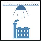 Светильник 200 в, колокол, промышленный, индустриальный светильник, светильник купольный, светильник подвесной, фото 10