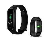 Фитнес-браслет 5 Pro с измерением температуры и давления (черный)
