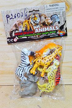 P2603/6 Дикие животные в пакете 26*16 см