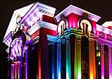 Заливка световая фасада здания, освещение линейное, направленое освещение фасадов. Подбор оборудования, фото 2