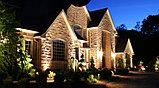 Заливка световая фасада здания, освещение линейное, направленое освещение фасадов. Подбор оборудования, фото 5