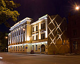 Заливка световая фасада здания, освещение линейное, направленое освещение фасадов. Подбор оборудования, фото 4