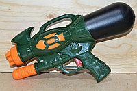 LD-116A Водяной пистолет с насосом в пакете военный 40*21см, фото 1
