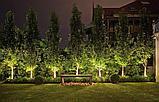 Ланшафтная подсветка территорий, освешение деревьев, предусадебных участков, освещение дворов, улиц, парков., фото 5
