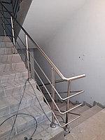 Ограждения из нержавеющей стали диаметр 38 ASI 201 толщина 1мм высото 95 см