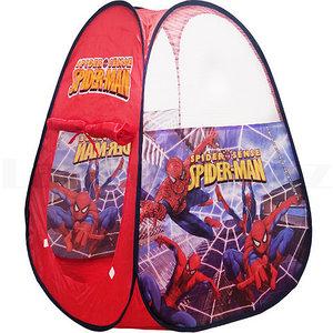 """Палатка детская для игр «Веселый домик» в сумке (""""Человек-паук"""")"""