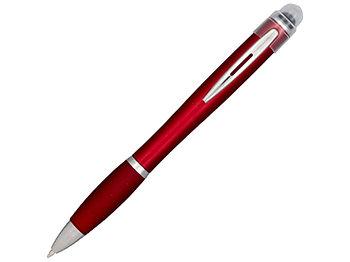 Ручка цветная светящаяся Nash, красный