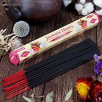"""Благовония Sarathi """"Jasmine Honey. Жасмин мед"""", 20 палочек в упаковке, шестигранник"""