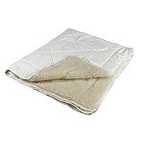 Одеяло Миродель Меринос теплое, шерсть мериносовой овцы, 175*205 ± 5 см, поликотон, 250 г/м2