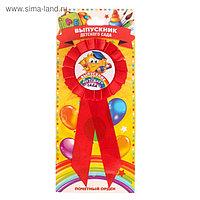Орден - розетка «Выпускник детского сада», d= 6,5 см