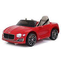 Электромобиль Bentley EXP 12 Speed 6e Concept, EVA колёса, кожаное сиденье, уценка (порвано сиденье, внешние
