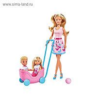 Куклы «Штеффи», «Еви», «Тимми», набор «Весёлая прогулка»