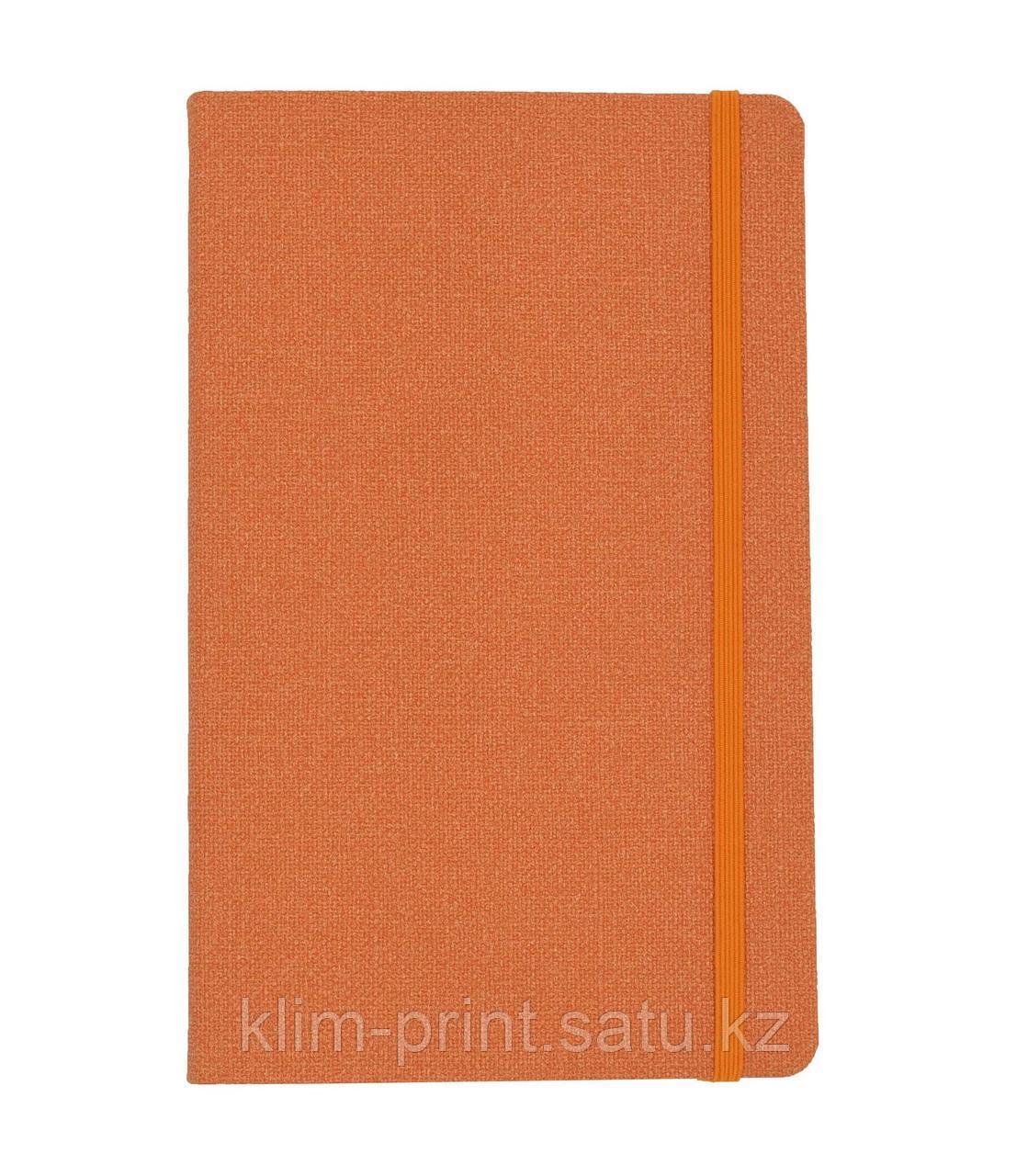 Блокнот, от Lediberg, итальянского производителя, A5 формата (ярко-оранжевый)