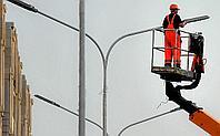 Монтаж уличного освещения, монтаж фонарей, монтаж светильников, монтаж опор уличного освещения, фото 6