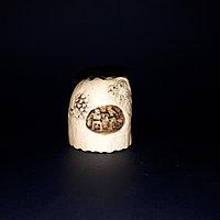 Нэцкэ «Гора с пещерой» символ тепла и уюта в доме. Япония, 1920 годы Зуб кашалота?