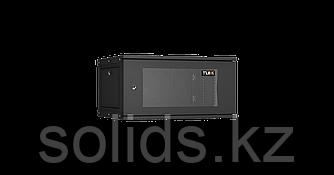 Настенный разборный шкаф TLK 6U стекло 600х450 BK