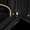 Настенный разборный шкаф TLK 6U стекло 600х450 BK, фото 5