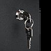 Настенный разборный шкаф TLK 6U стекло 600х450 BK, фото 9