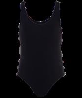 Купальник для плавания 4920, совместный,черный (28,30,36,38,40,)