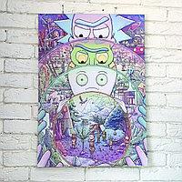 Постер Рик и Морти