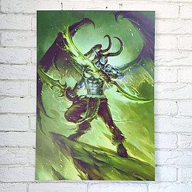 Постер Иллидан - World of Warcraft