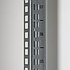 Настенный разборный шкаф 9U стекло 600х600, фото 7