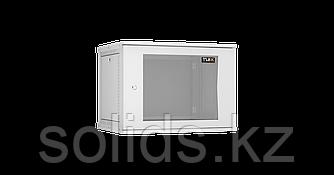 Настенный разборный шкаф  9U стекло 600х450