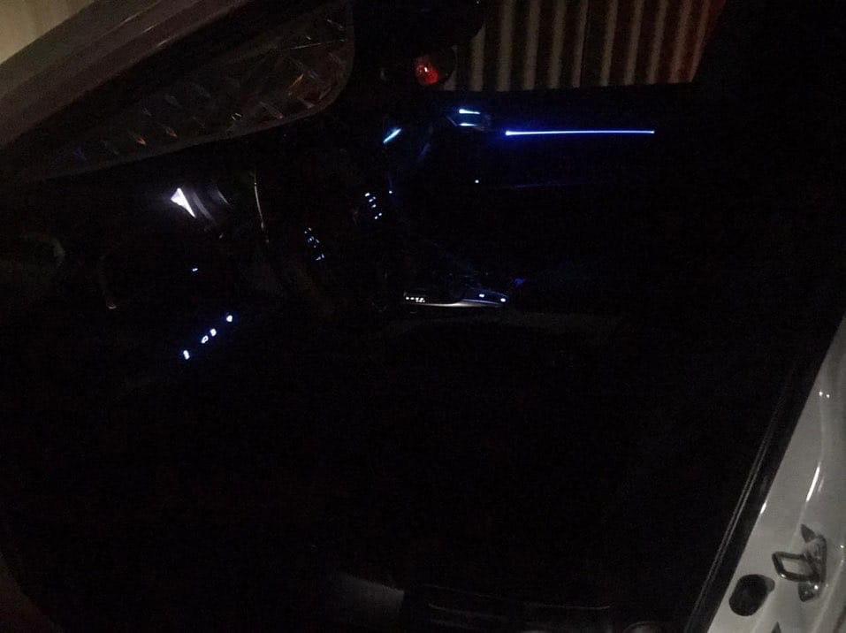 Наши клиенты Установили подсветку дверных карт на Camry 70 Данный набор в ограниченном количестве Успейте приобрести www.prestigetuning.kz #camry#camry70
