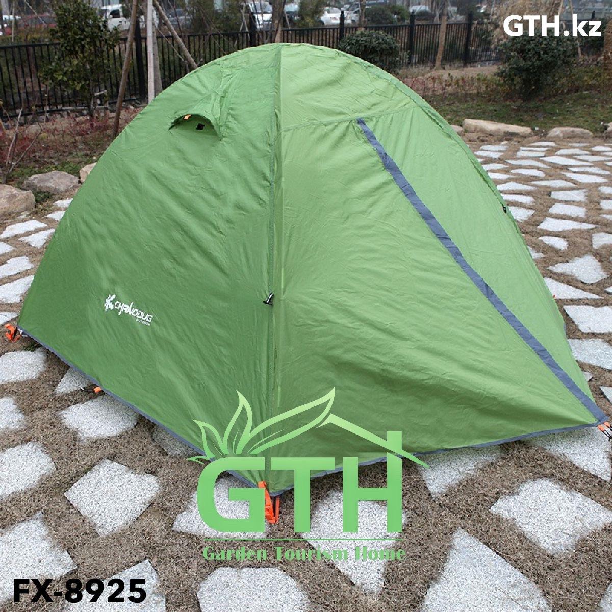 Горные палатки Chanodug FX-8935. Двухместные, двухслойные. Доставка. - фото 2